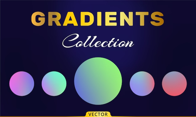 Vector gradients collection
