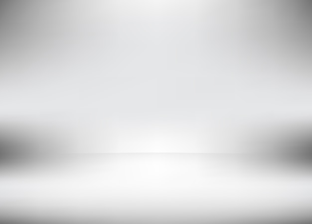 Vector gray studio room gradient used for background