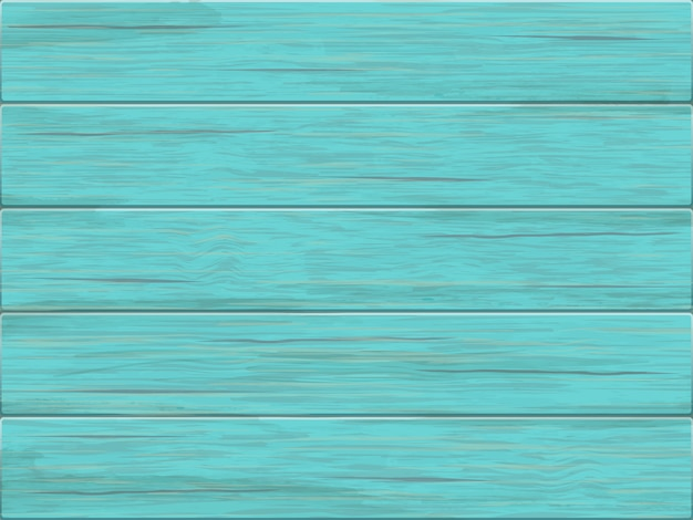 Vector green wooden background