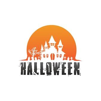 Векторные иконки для поздравительных открыток и плакатов helloween, подписывают концепцию иллюстрации со знаком и символом
