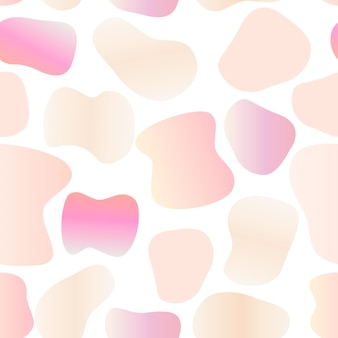 Vector illustration of bright color abstract seamless pattern background