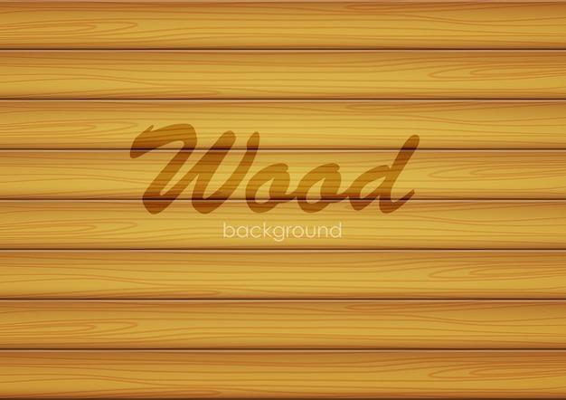 Векторная иллюстрация: коричневый фон текстуры древесины