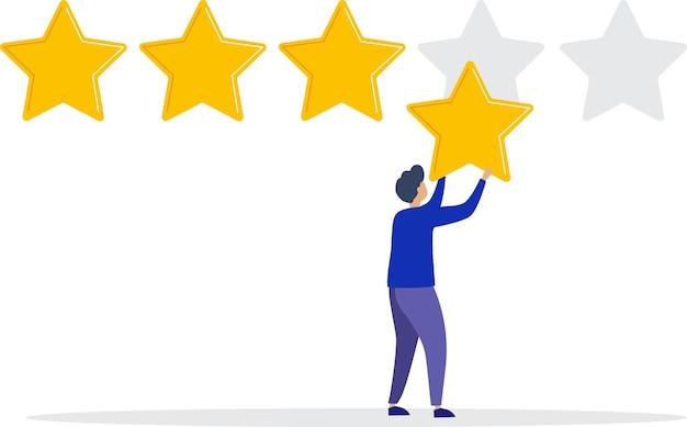 벡터 일러스트 레이 션 고객 리뷰 평가 다른 사람들이 리뷰 평가 및 피드백을 제공합니다.