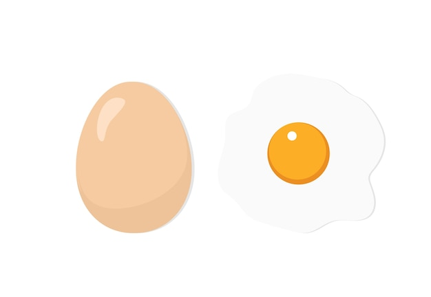 Vector illustration egg