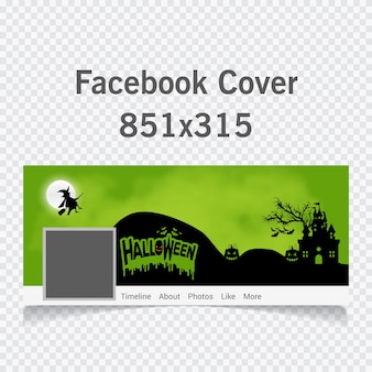 Vector illustration of a halloween cover