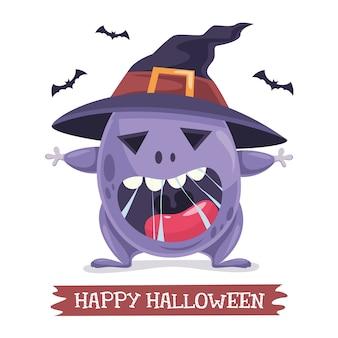 Vector illustration of halloween