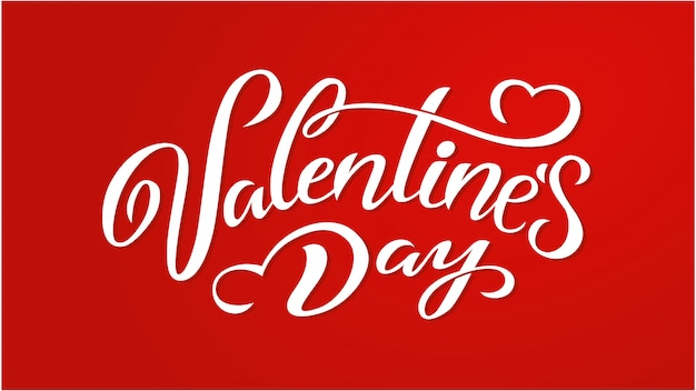 Vector illustration. happy valentines day typography vector design for greeting cards and poster