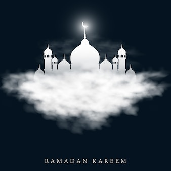 Vector illustration for holiday of ramadan kareem.