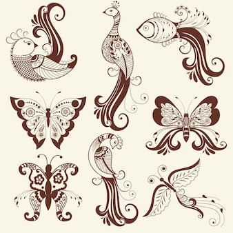 Henna Design Vectors Photos And Psd Files Free Download