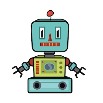 Векторная иллюстрация робота