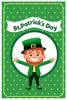 Vector Illustration of a St. Patrick's Day.