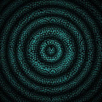 美しい抽象的な催眠術の背景のベクトルイラスト。 eps10