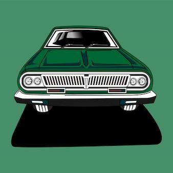 Векторная иллюстрация плоский дизайн автомобиля