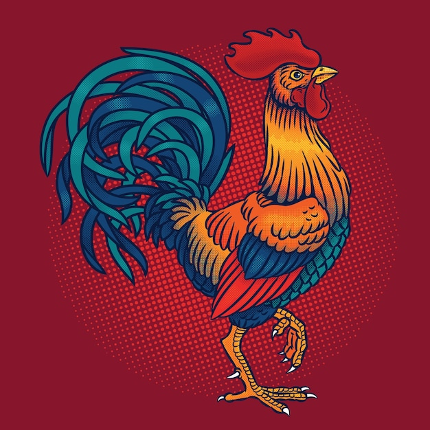 picture about Free Printable Pictures of Roosters referred to as Chicken Vectors, Pictures and PSD data files Totally free Obtain