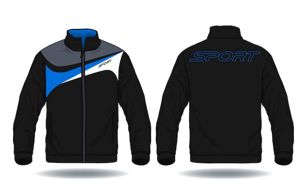 Vector illustration of sport jacket.