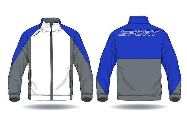 Vector illustration of sport jacket.