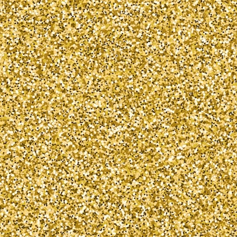 Vector image of gold glitter textured background