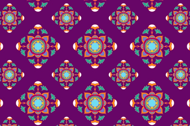 Vector indian mandala pattern social banner background Free Vector