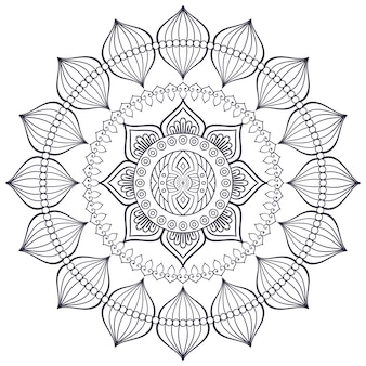 Vector indian mandala