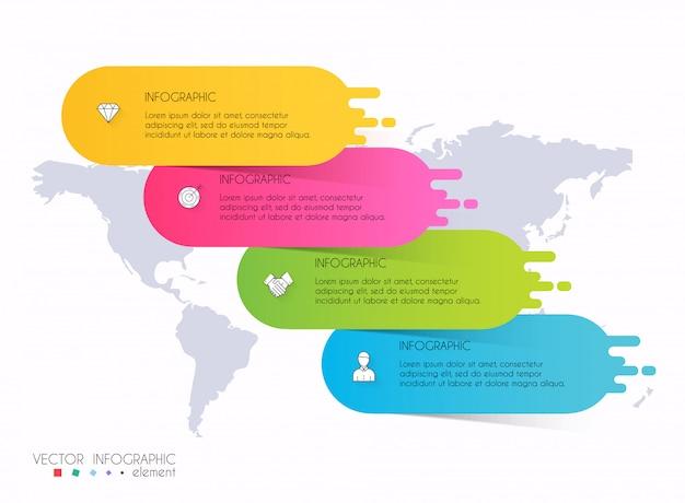 Векторная графика информация для вашей бизнес-презентации.
