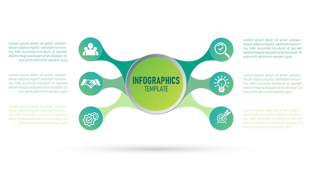 Vector of infographic template for your business and marketing.