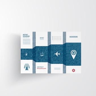 ベクトルinfographics。抽象的な背景カード