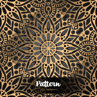 Vector islamic background with mandala