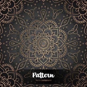 Vector islamic background with mandala