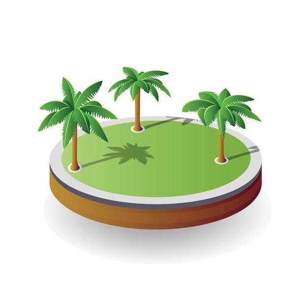 Векторный остров