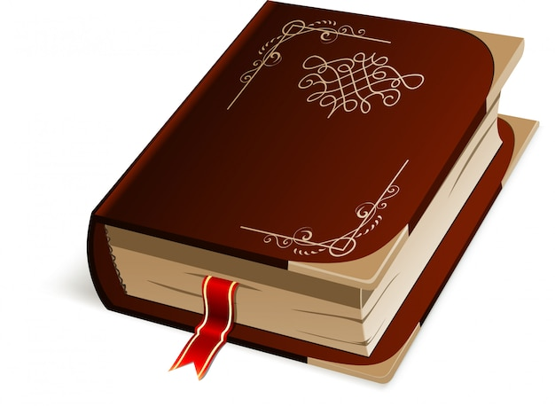 Vector isolated book.