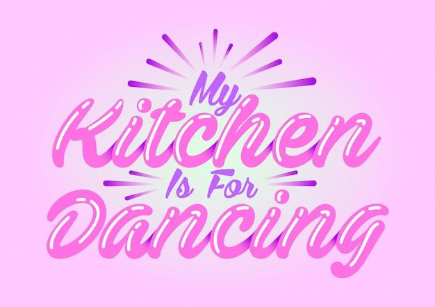 Vector kitchen qoutes