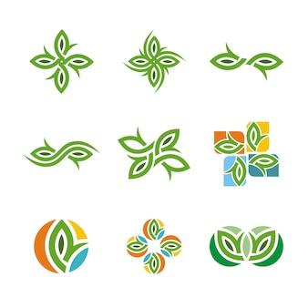 Vector leaf natural