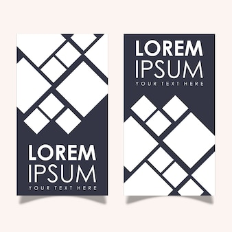 Дизайны баннеров vector leaflet