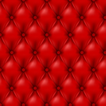 Vector leather background with buttons