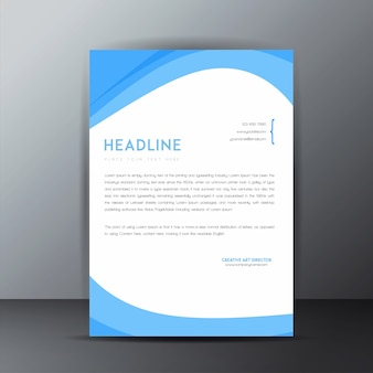Vector letterhead designs