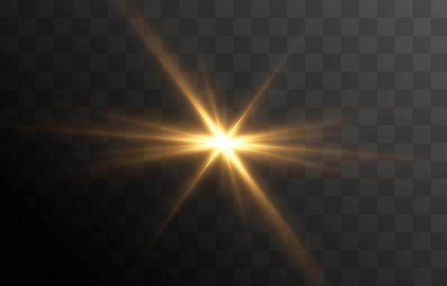 Vector light a flash of light a magical glow sun sun rays png christmas light light png