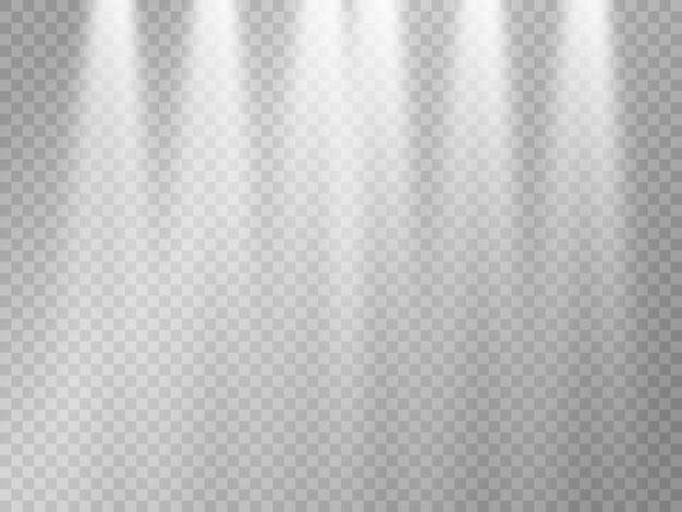 ベクトル光源コンサート照明スポットライトは、ビームが照らされたコンサートスポットライトを設定します