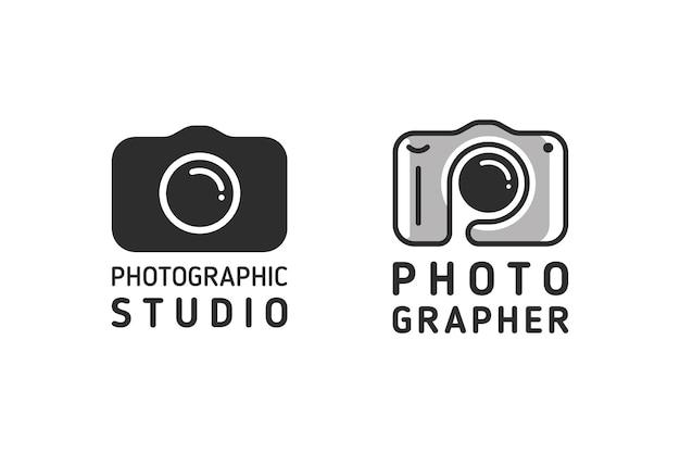 Векторный логотип для фотографа или студии.