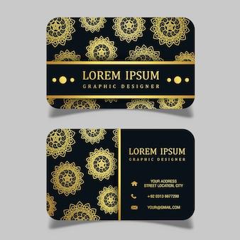 Vector luxury royal visiting card