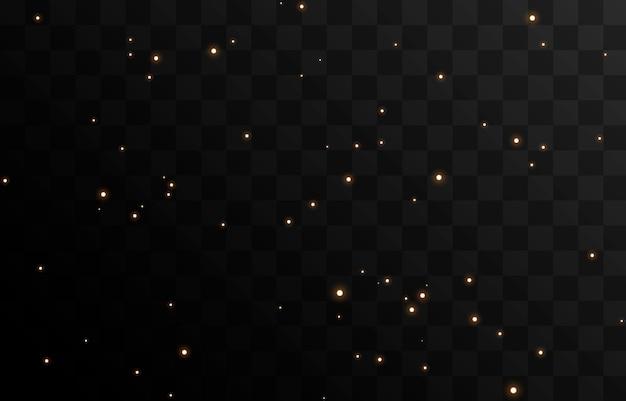 Вектор волшебное свечение сверкающий свет сверкающая пыль png сверкающая волшебная пыль рождественский свет