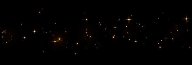 ベクトル魔法の輝きスパークリングライトスパークルダストpngスパークリングマジカルダストクリスマスライト
