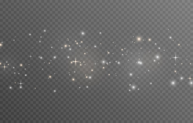ベクトル魔法の輝きpng粒子の白と金の粉塵爆発輝く妖精の粉