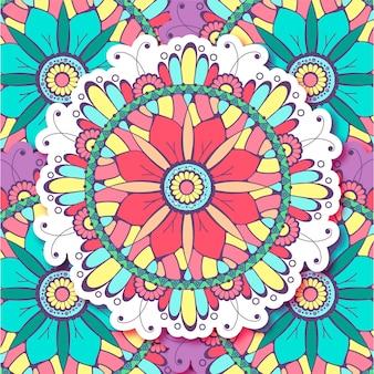 Vector Mandala background