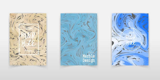 Vector marble abstract background. liquid marble pattern. trendy template for design