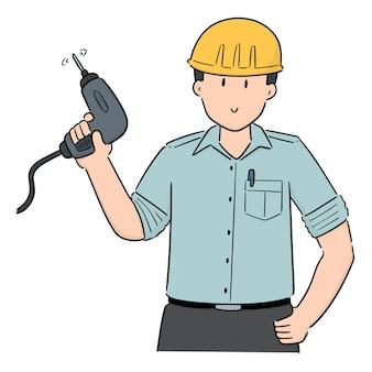 Vector of mechanic