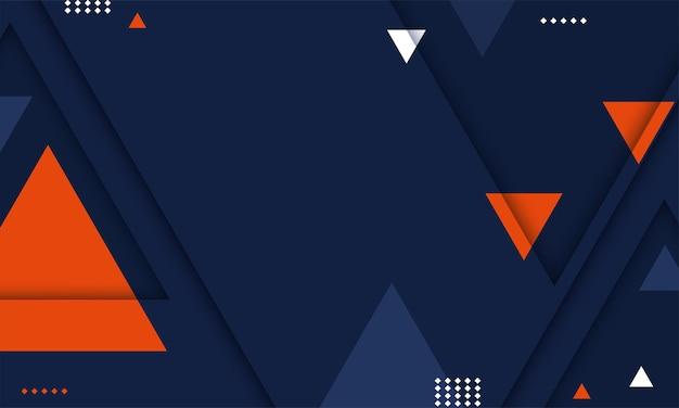 Vettore di sfondo geometrico astratto moderno