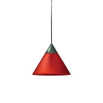 漆喰シャンダリエランプのベクトル現代モデル