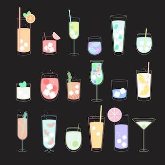 Vector of a beverage