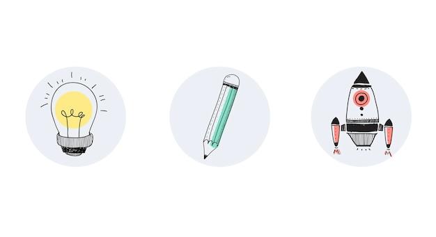 3つのツールのベクトル