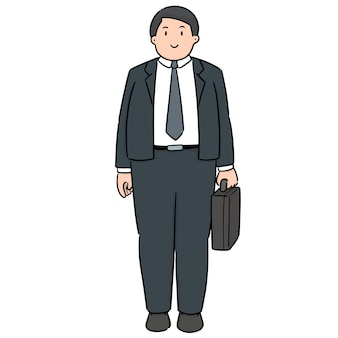 Vector of businessman